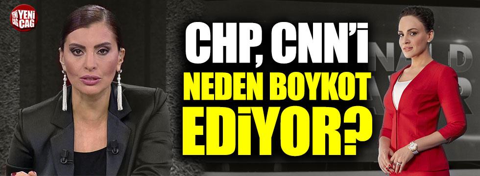 CHP CNN Türk'ü neden boykot ediyor? Buket Aydın, Hande Fırat...