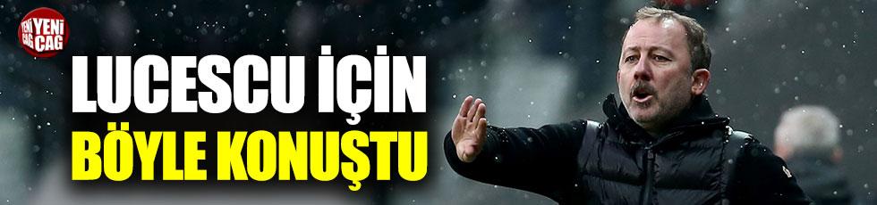Sergen Yalçın'dan Mircea Lucescu açıklaması