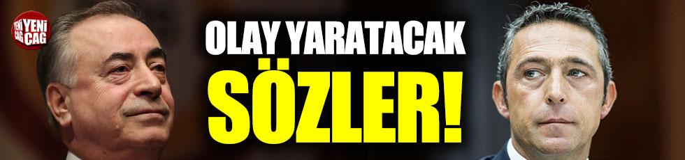 """Mustafa Cengiz'den Ali Koç'a: """"Ağlıyorsunuz!"""""""