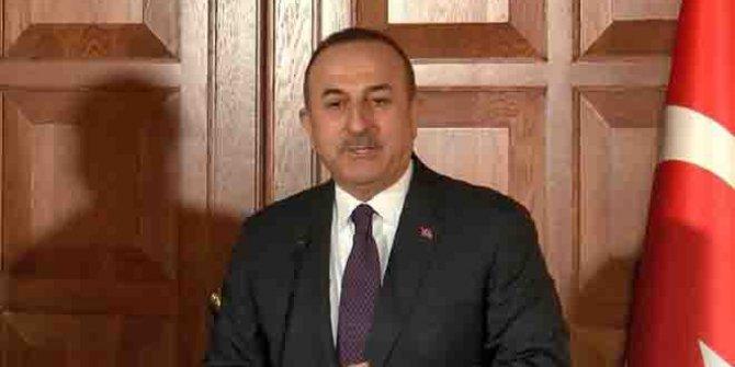 Bakan Çavuşoğlu'ndan Akıncı'ya tepki