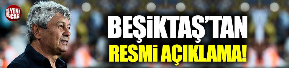 Beşiktaş'tan Mircea Lucescu açıklaması