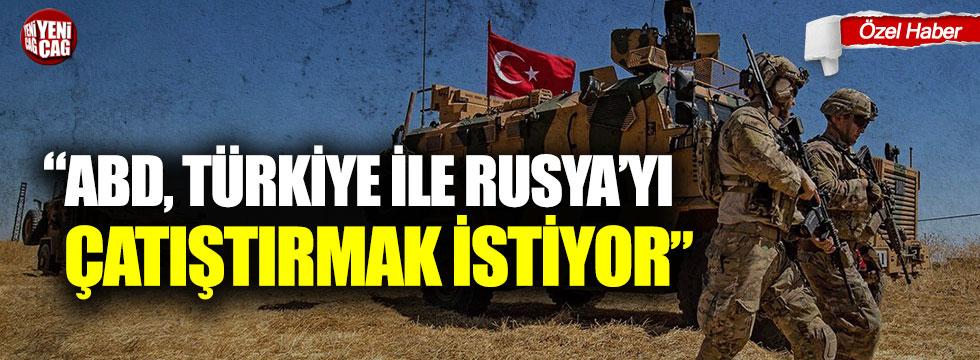 """Ahmet Yavuz: """"ABD, Türkiye ile Rusya'yı çatıştırmak istiyor"""""""