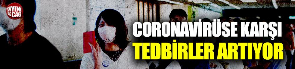 Çin, coronavirüse karşı önlemlerini arttırıyor