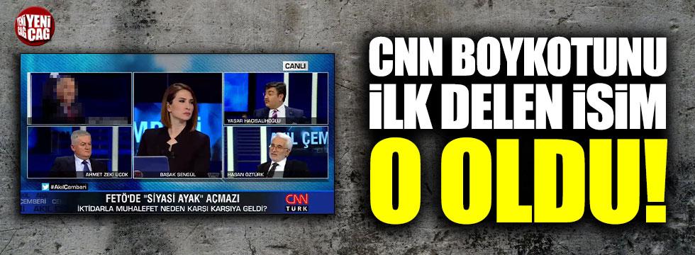 CHP'de CNN Türk boykotunu ilk delen isim Ümit Kocasakal
