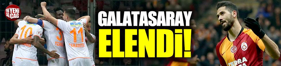 Galatasaray'a 3 gol yetmedi: Kupaya veda etti