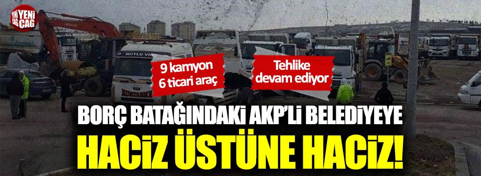 Borç batağındaki AKP'li Uşak Belediyesi'ne haciz