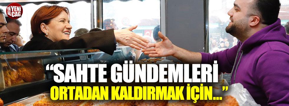 Meral Akşener'den Bursa'da esnaf ziyareti