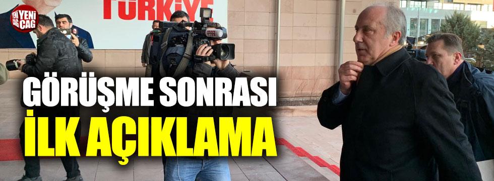 Muharrem İnce, Kemal Kılıçdaroğlu ile görüştü