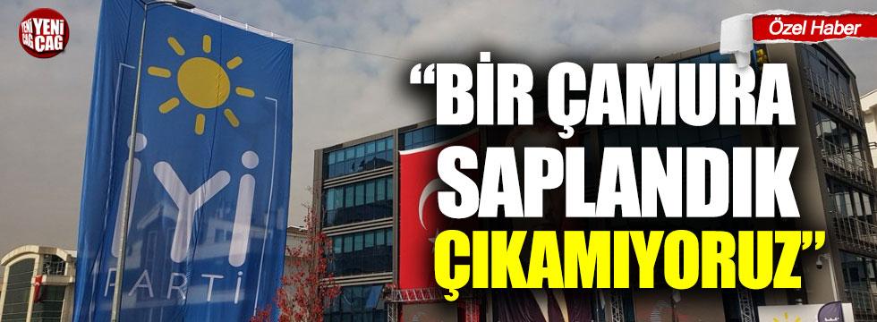 """İYİ Partili Eyüp Şeker: """"Bir çamura saplandık, çıkamıyoruz"""""""