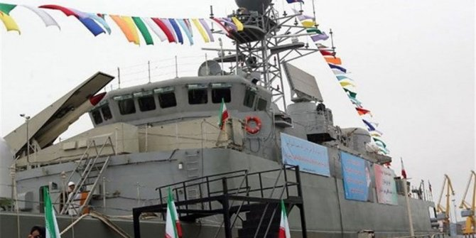 Silah dolu İran botuna el koyuldu