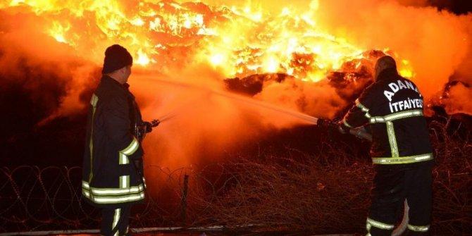 Adana'da yangın kâbusu sürüyor