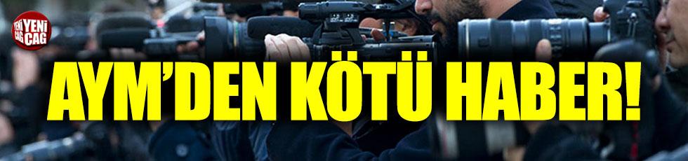 AYM: Gazetecilerin yıpranma payı iptal edildi