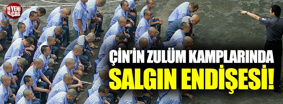 Çin'in zulüm kamplarında salgın endişesi!