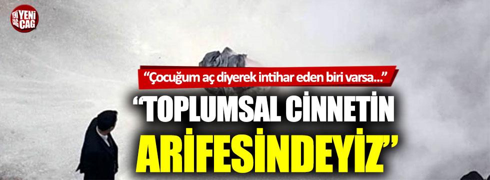 """Aykut Erdoğdu: """"Toplumsal cinnetin arifesindeyiz"""""""