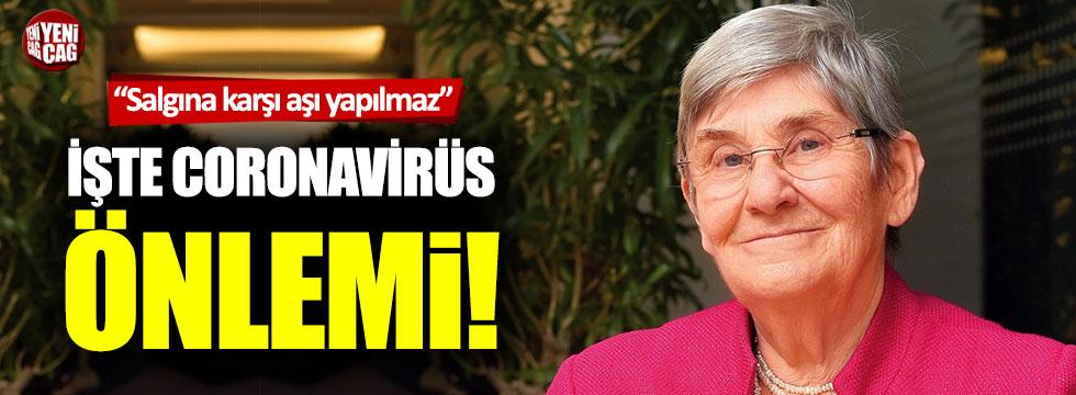Canan Karatay'dan coronavirüs önlemi!