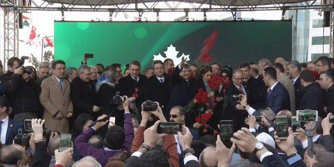 Gelecek Partisi'nin İstanbul İl Başkanlığı'nın açılışı yapıldı