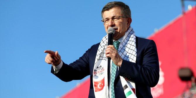 Ahmet Davutoğlu'ndan Erdoğan'a gönderme