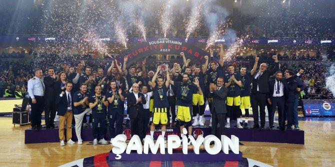 Türkiye Kupası 7. kez Fenerbahçe Beko'nun