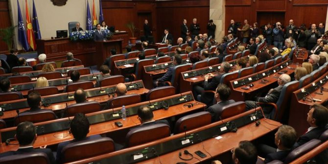 Kuzey Makedonya Meclisi feshedildi