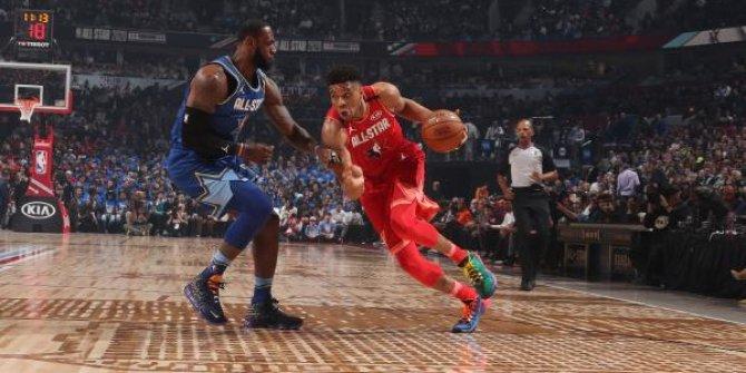 NBA All-Star maçını  Lebron'un takımı kazandı