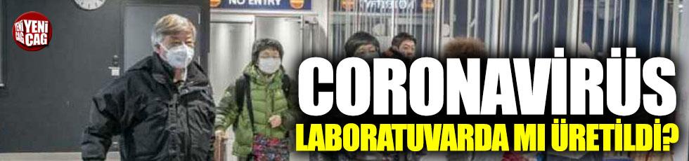 Coronavirüs ile ilgili flaş iddia: Laboratuvarda üretildi