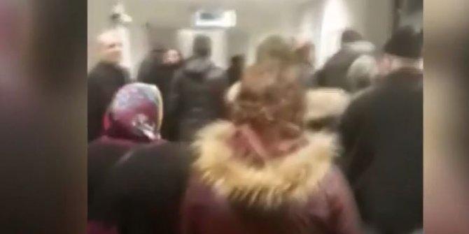 Devlet hastanesinde kuyruk uzadı vatandaş isyan etti