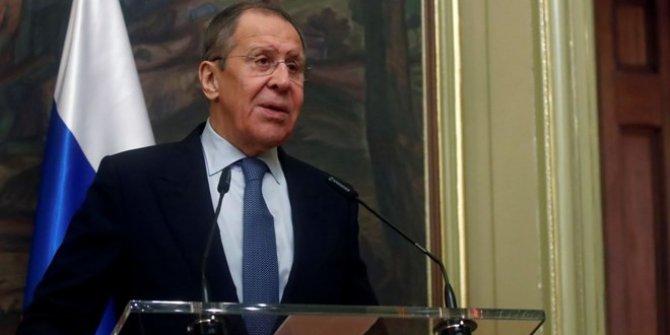 Lavrov'dan Trump'ın Ortadoğu planına tepki