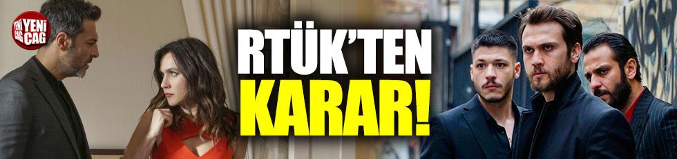 RTÜK'ten Çukur ve Yasak Elma'ya ceza
