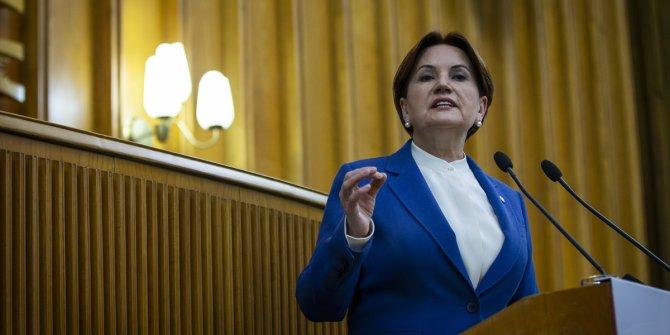 Meral Akşener İYİ Parti grup toplantısında konuştu