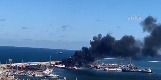 Hafter güçlerinden Türk gemisine saldırı!