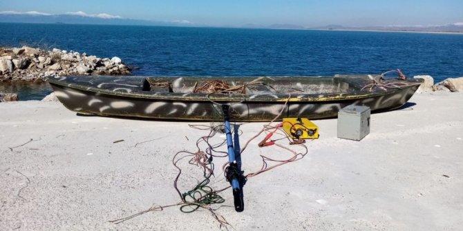 Elektrikle balık avına 147 bin TL ceza
