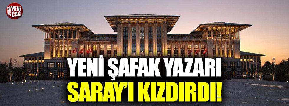 Saray'dan iktidara yakın yazara FETÖ suçlaması!