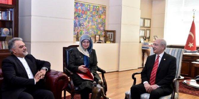 Kemal Kılıçdaroğlu, İran Büyükelçisi ile görüştü