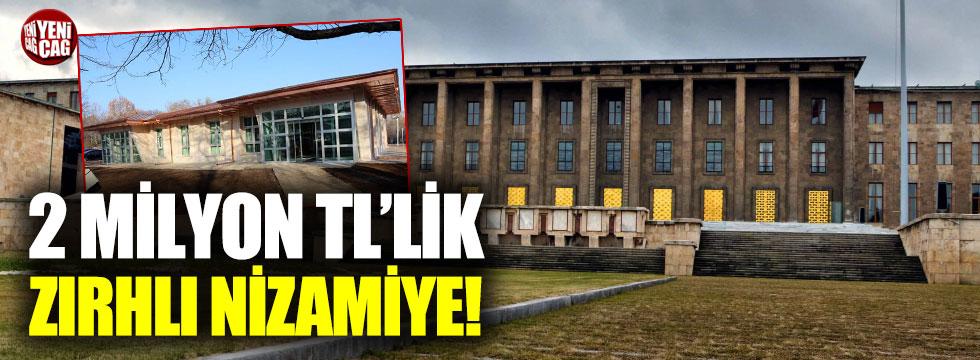 TBMM'ye yeni zırhlı güvenlik binası: 2 milyon TL...