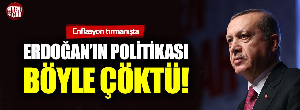 Recep Tayyip Erdoğan'ın 'Düşük faiz, düşük enflasyon' politikası çöktü