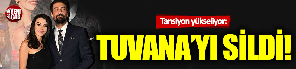 Tansiyon yükseliyor! Onur Tuna Tuvana Türkay'ı sildi!