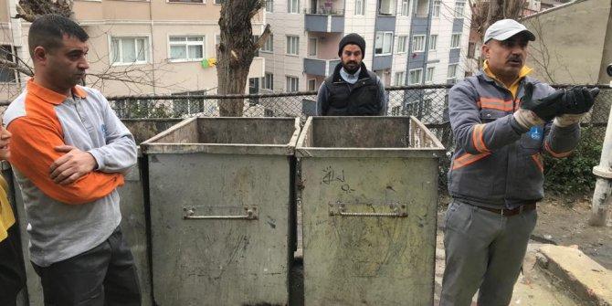 Şişli'de çöplerin arasında bebek çıktı