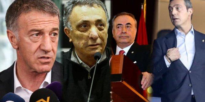 Dört büyüklerin başkanları bir araya geliyor!