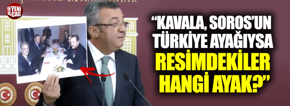 Engin Altay, Tayyip Erdoğan ile George Soros'un resmini sordu