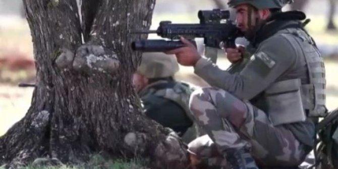 Türk askeri Suriye'de böyle görüntülendi