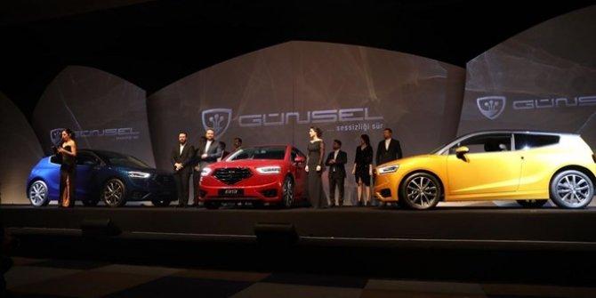KKTC'nin yerli otomobili 'GÜNSEL' tanıtıldı