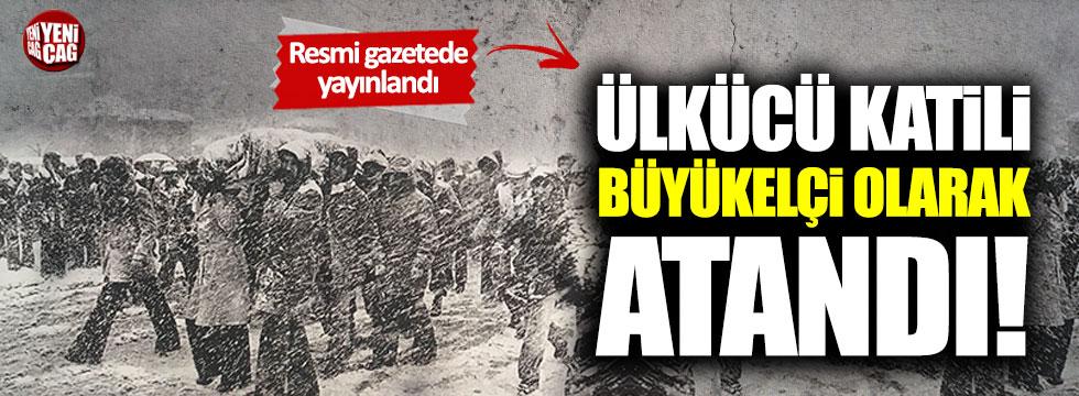 Ülkücü Mustafa Erol'u öldüren Ozan Ceyhun büyükelçiliğe atandı