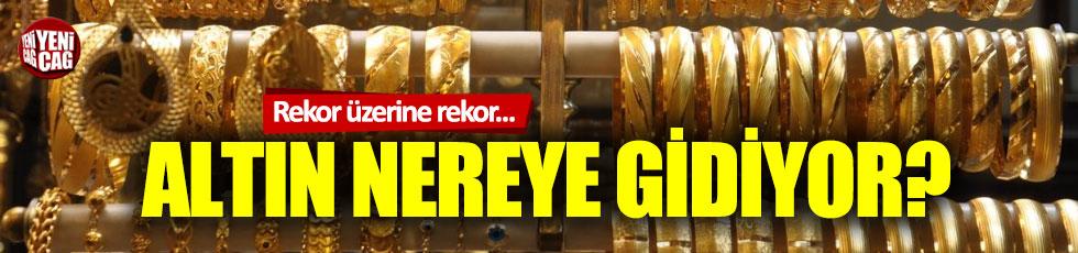 Rekor üzerine rekor: Altın nereye gidiyor?