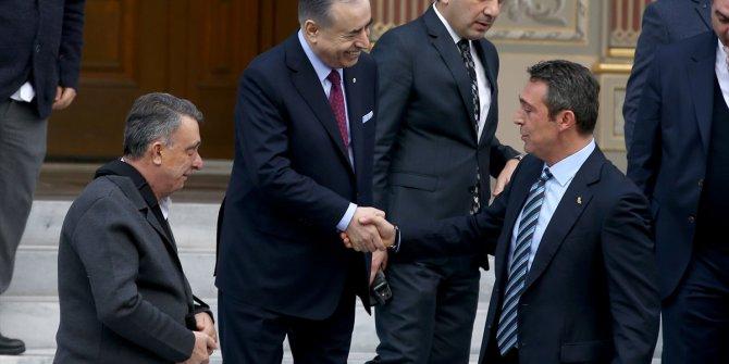 Mustafa Cengiz ve Ali Koç arasında dikkat çeken diyalog