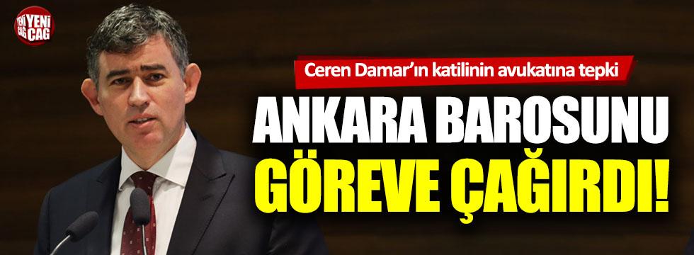 Metin Feyzioğlu'ndan Ceren Damar davasında katilin avukatına tepki!