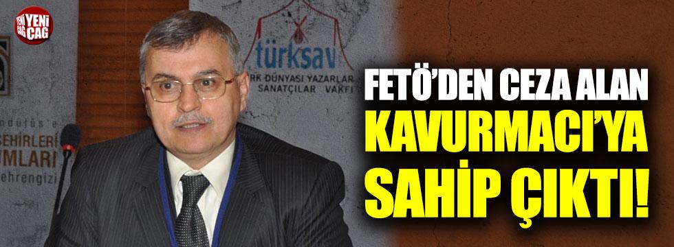 Prof. Dr. Ahmet Akgündüz, FETÖ'den ceza alan Kavurmacı'ya sahip çıktı!