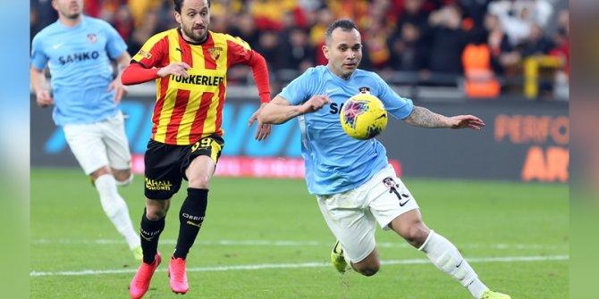 Gaziantep FK, son dakikada puanı aldı