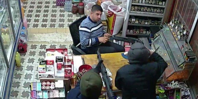 Silahlı soyguna uğrayan marketin sahibi: 'Şaka sandım'