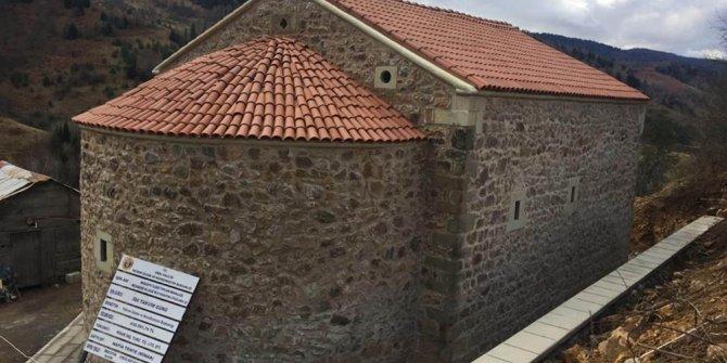 19. yüzyıldan kalma kilise restore edildi