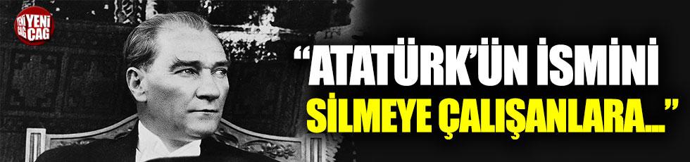 CHP'li İlgezdi: Atatürk'ün izini silmeye çalışanlara karşı...